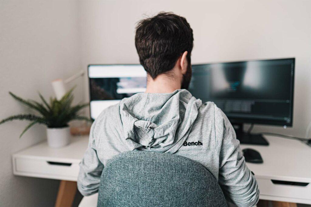 remote working home based developer jobs